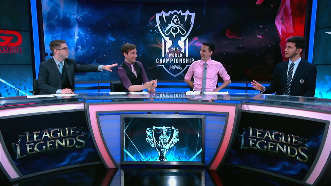 broadcast on league of legends