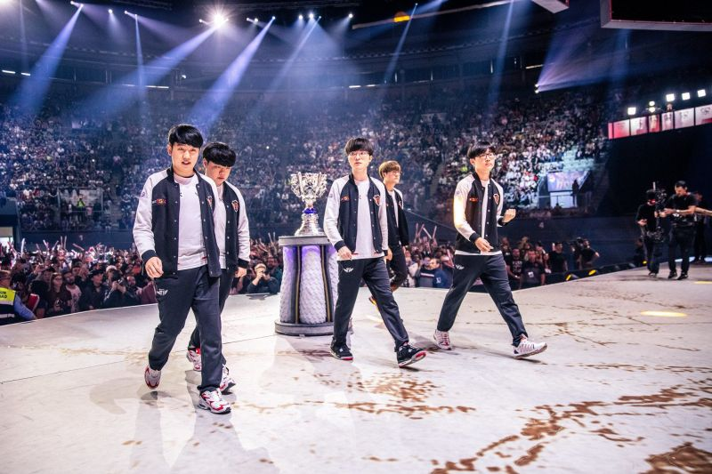 skt on lol worlds 2019